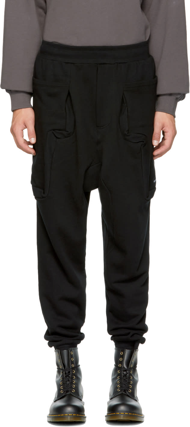 Image of Perks And Mini Black ancient Gates Duplo Lounge Pants
