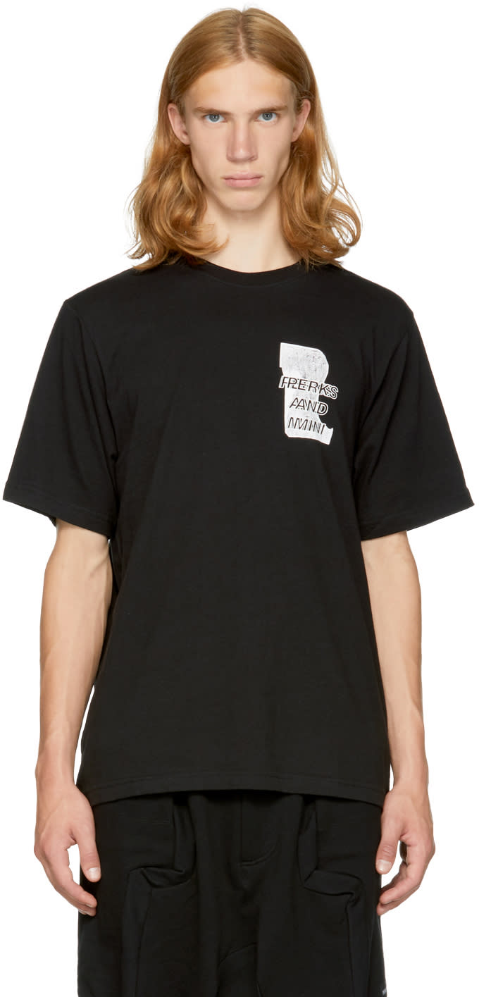 Image of Perks And Mini Black Home Maid T-shirt
