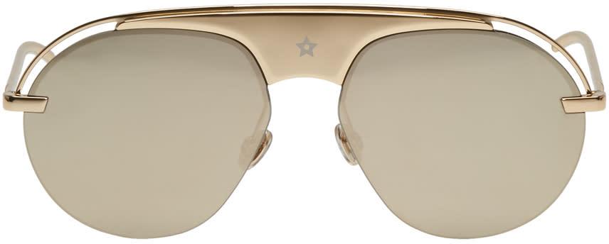 Image of Dior Gold Diorevolution2 Sunglasses
