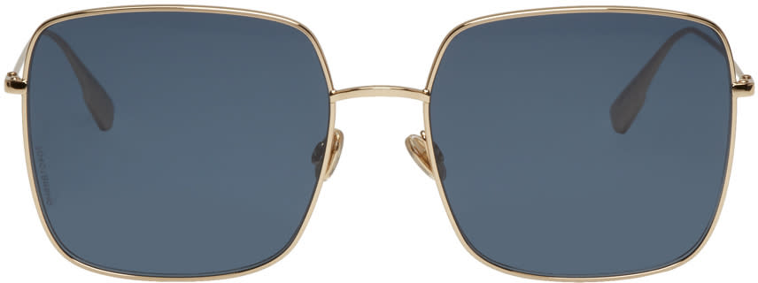 Image of Dior Gold Diorstellaire1 Sunglasses