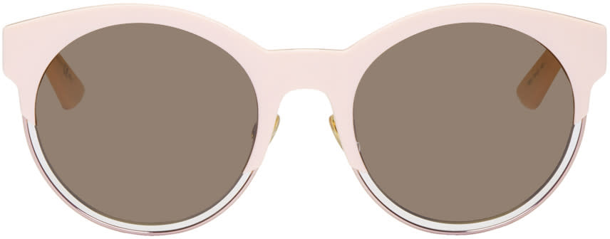Image of Dior Pink Sidereal 1 Sunglasses