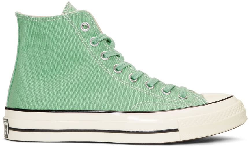 Image of Converse Green Chuck Taylor All-star 1970s High-top Sneakers