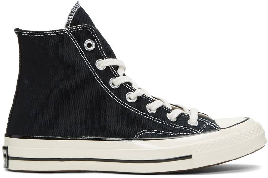 Converse Black Chuck Taylor All-star 1970s High-top Sneakers