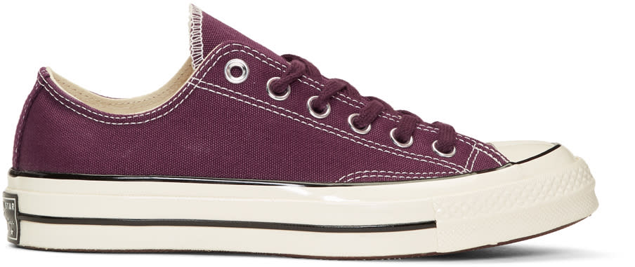 Image of Converse Burgundy Chuck Taylor All Star 1970s Sneakers