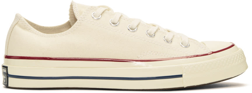 Image of Converse Off-white Chuck Taylor All-star 1970s Sneakers