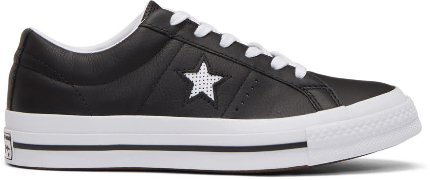 Image of Converse Black One Star Ox Sneakers
