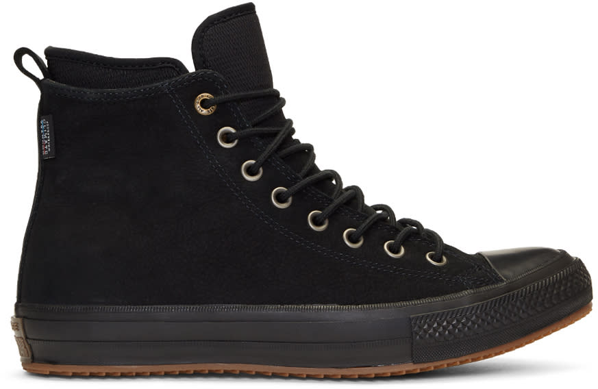 Image of Converse Black Nubuck Chuck Taylor All Star Boots