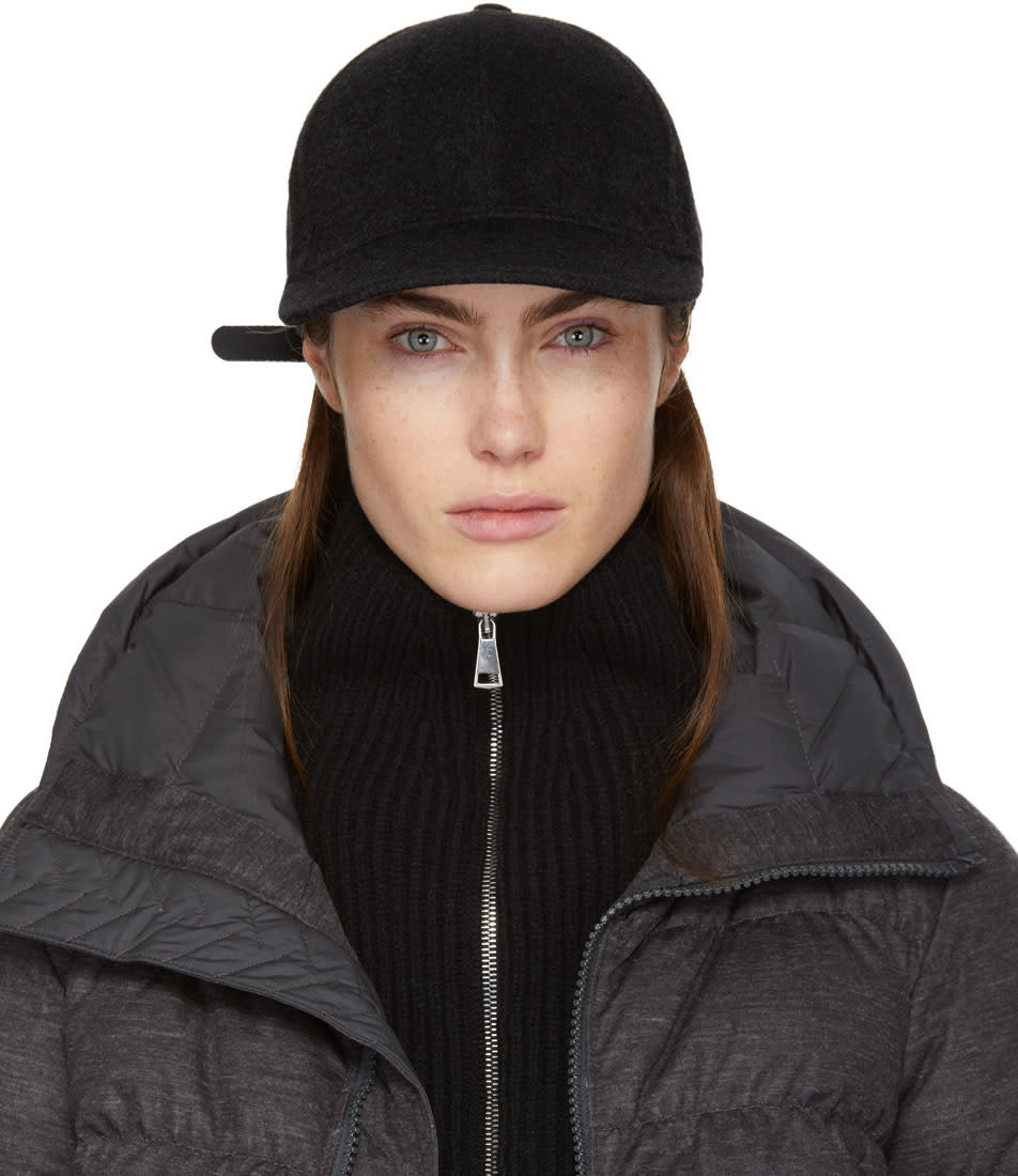 Image of The North Face Black Wool Cryos Cap