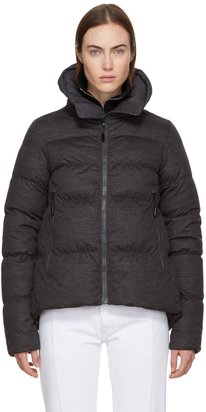 Image of The North Face Grey Down and Wool Cryos Jacket