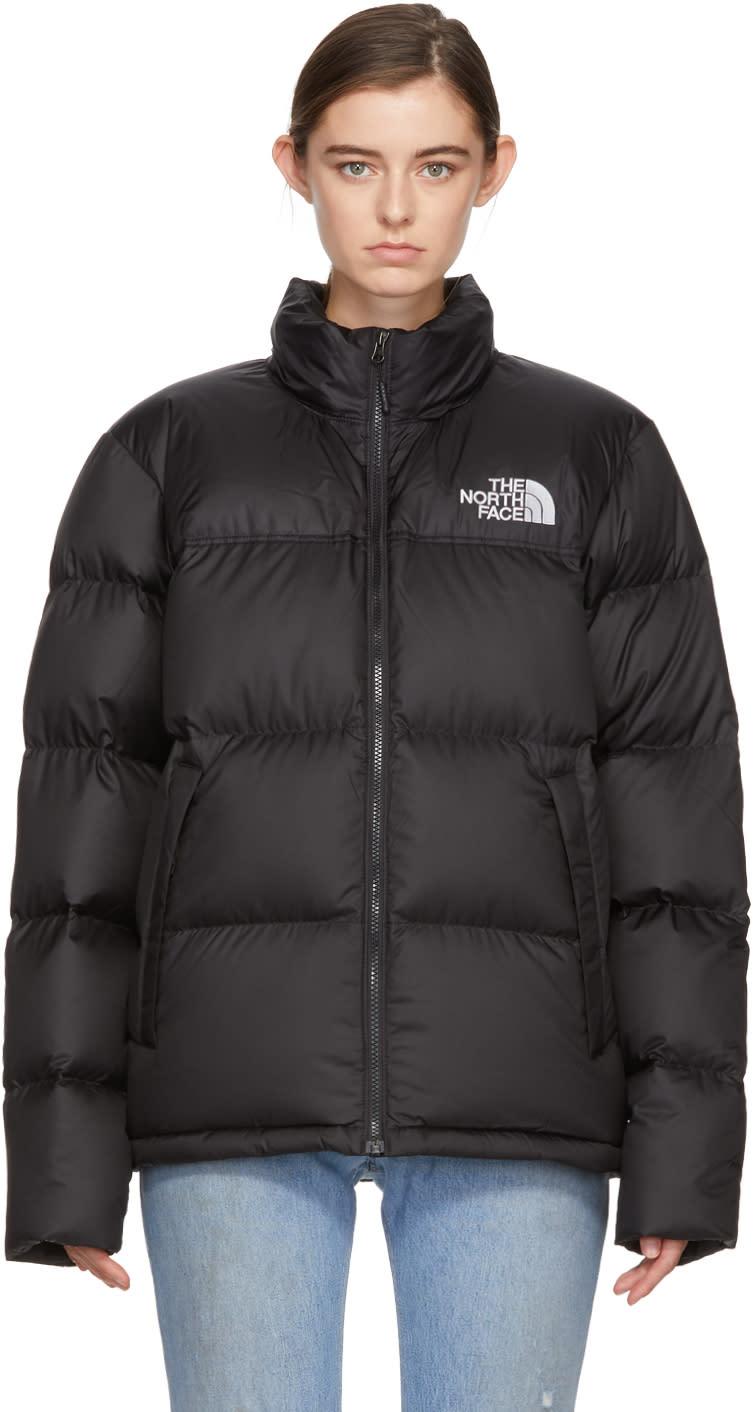 Image of The North Face Black Down Novelty Nuptse Jacket