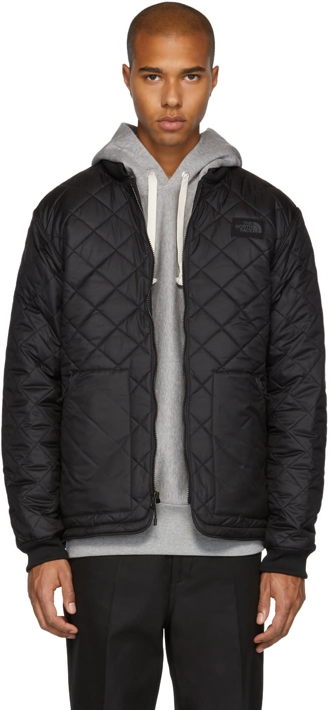 Image of The North Face Black Cuchillo Bomber Jacket