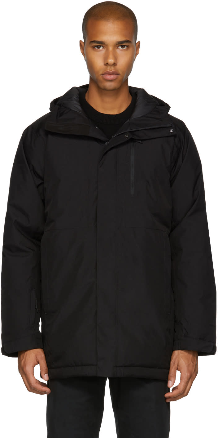 Image of The North Face Black Down Mount Elbert Parka