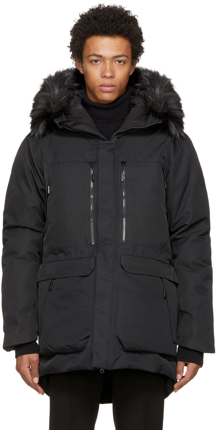 Image of The North Face Black Down Cryos Gtx Expedition Parka