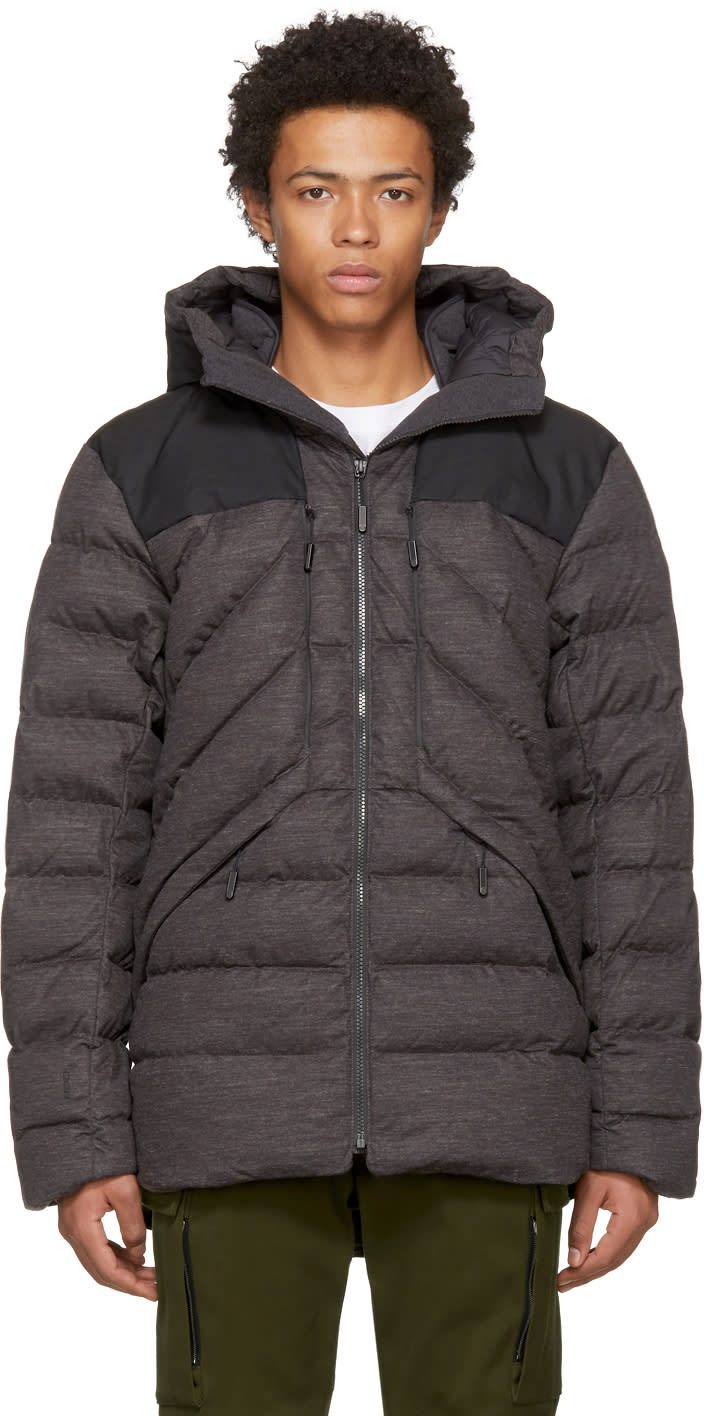 Image of The North Face Grey Down Cryos Jacket