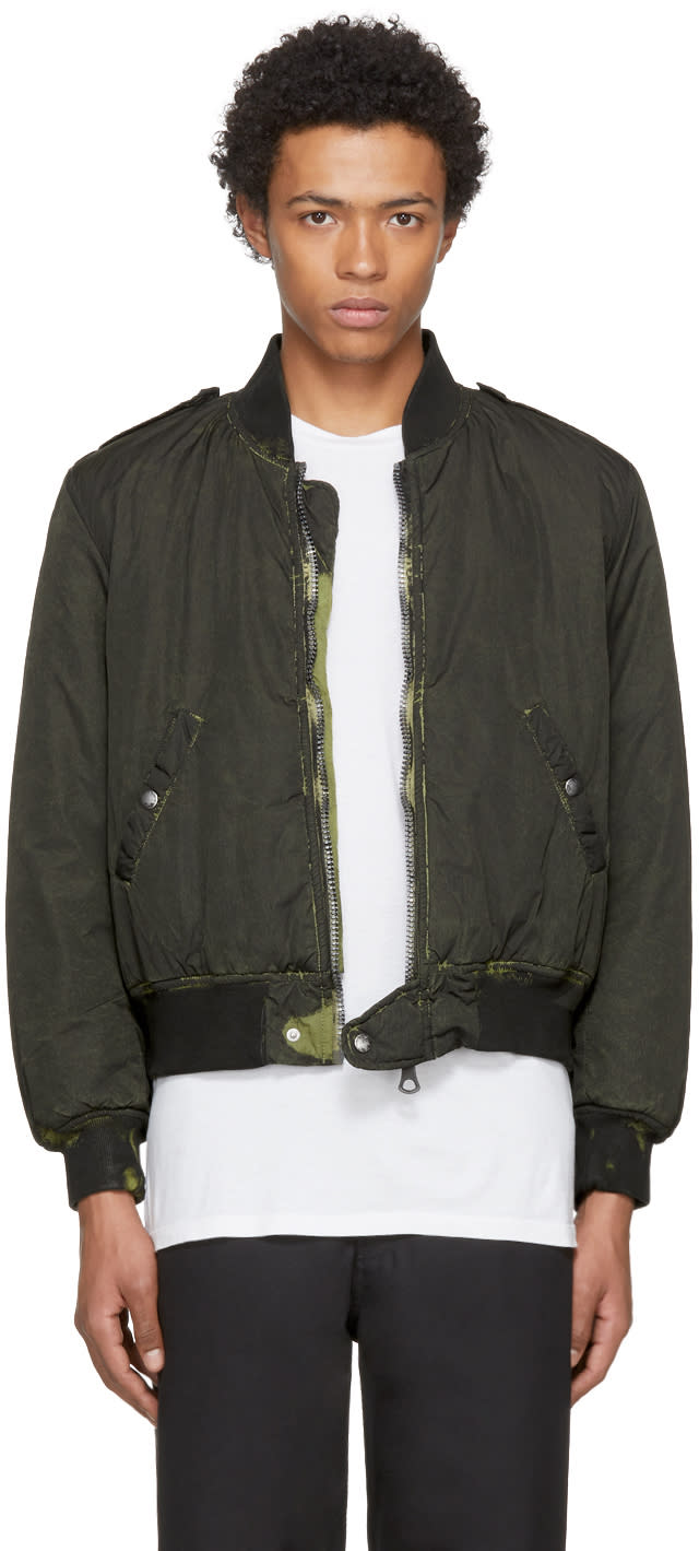 Image of Our Legacy Black Tanker Bomber Jacket