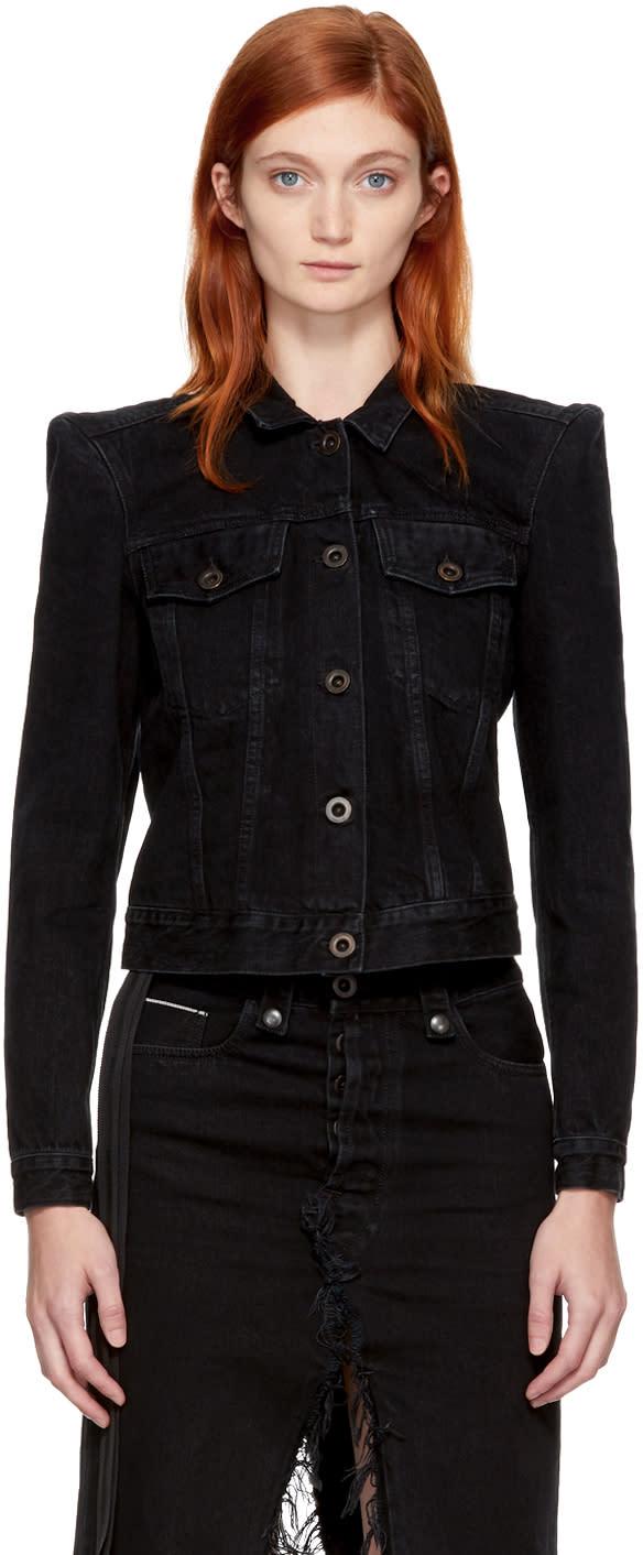 Image of Unravel Black Denim Classic Jacket