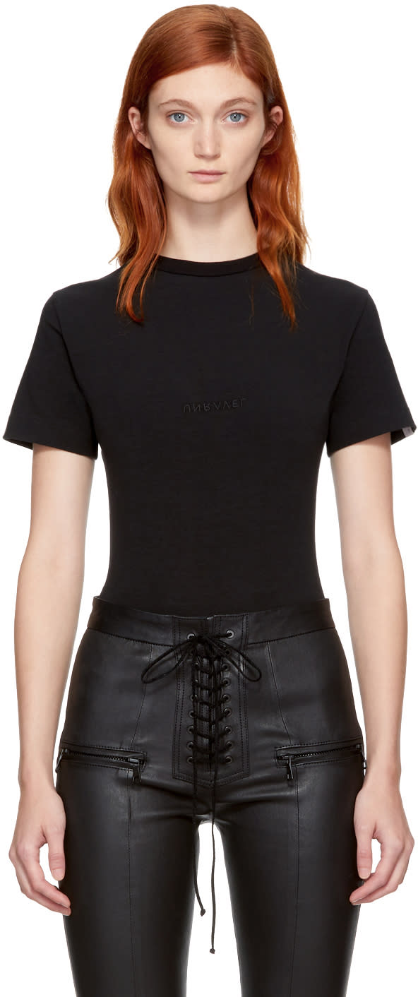 Image of Unravel Black Boy T-shirt Bodysuit