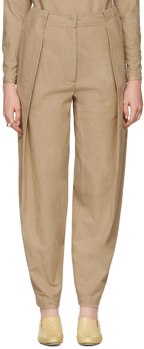 Image of Nehera Tan Poppy Trousers