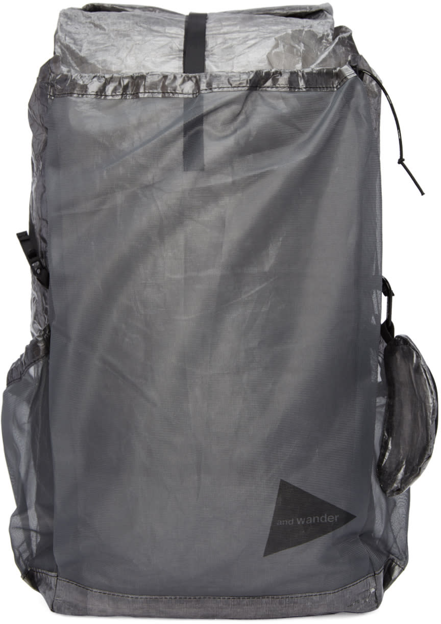 Image of And Wander Black Cuben Fiber Backpack