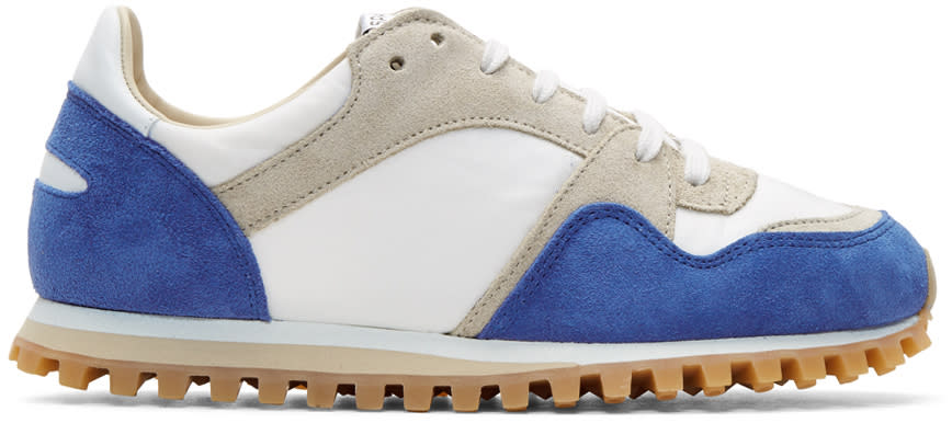 Image of Spalwart Blue and White Marathon Trail Sneakers