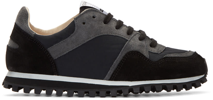 Image of Spalwart Black Marathon Trail Sneakers