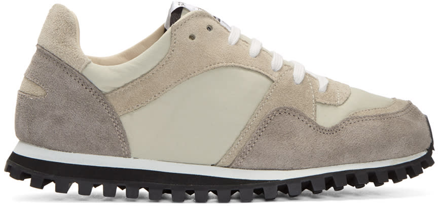 Image of Spalwart Taupe Marathon Trail Gb Sneakers