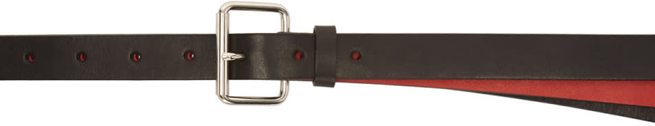 Image of Ambush Black and Red Double Belt