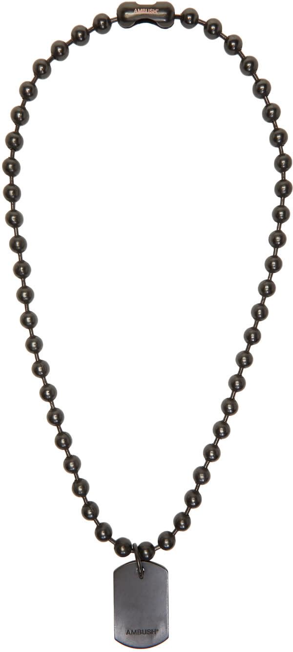 Image of Ambush Black Limited Edition Classic Chain 4 Necklace