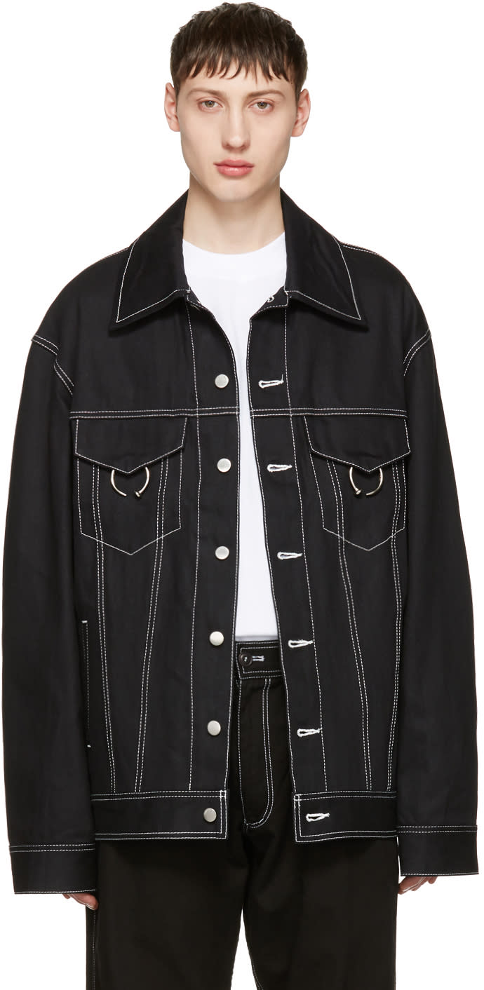 Ambush Black Oversized Denim Jacket