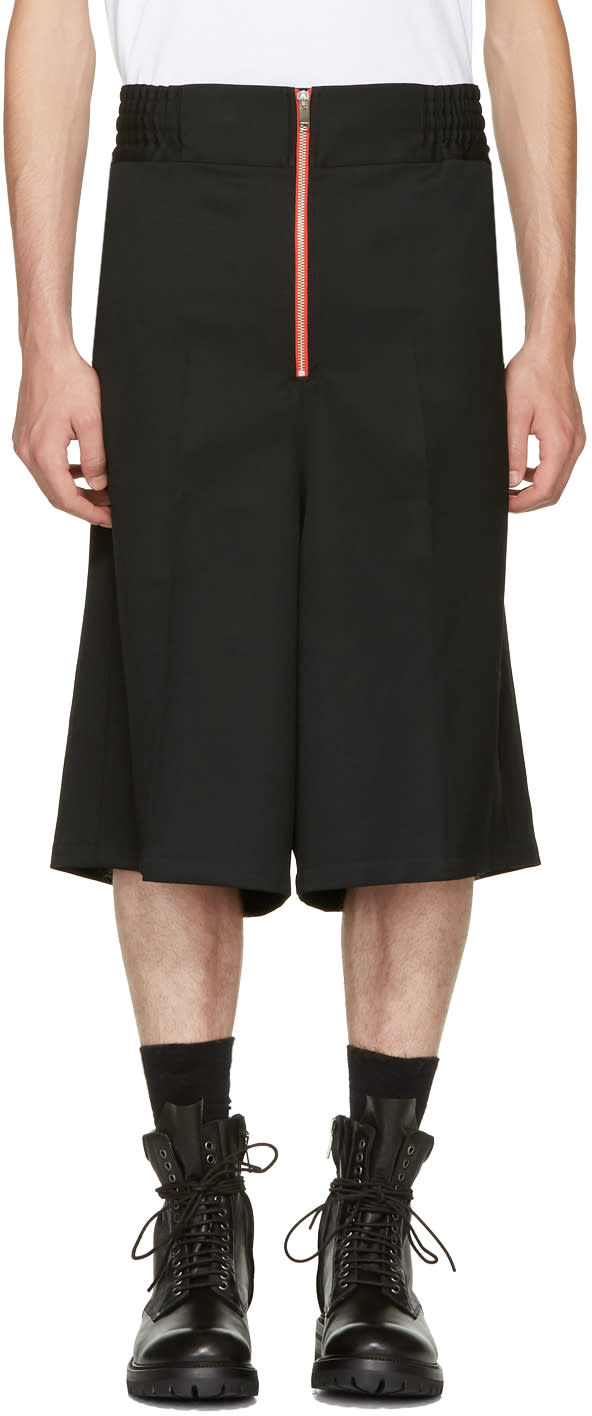 Image of Ambush Black Wool Boxer Shorts