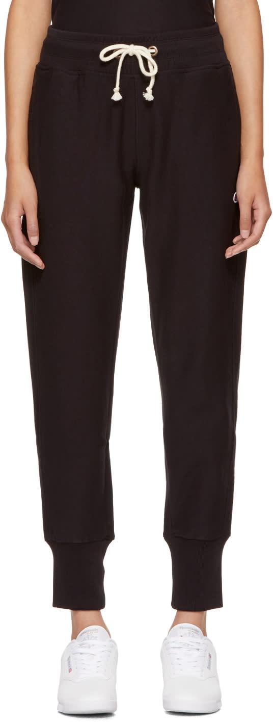 Champion Reverse Weave Pantalon De Survêtement à Logo Noir