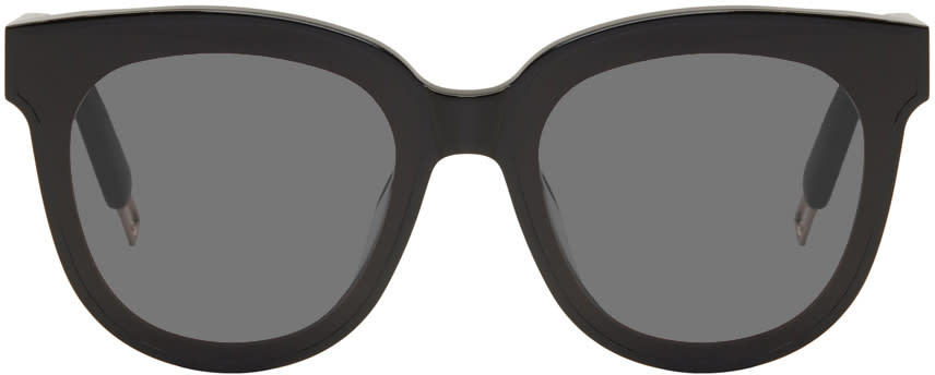 Image of Gentle Monster Black In Scarlet Sunglasses