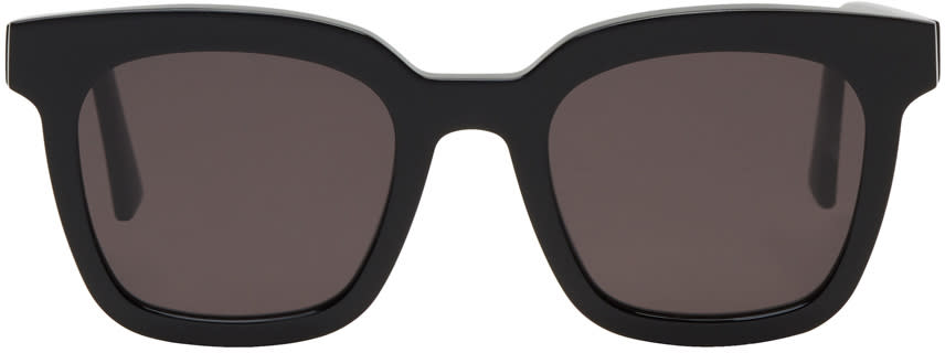 Image of Gentle Monster Black Finn Sunglasses