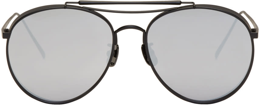 Image of Gentle Monster Black Big Bully Sunglasses