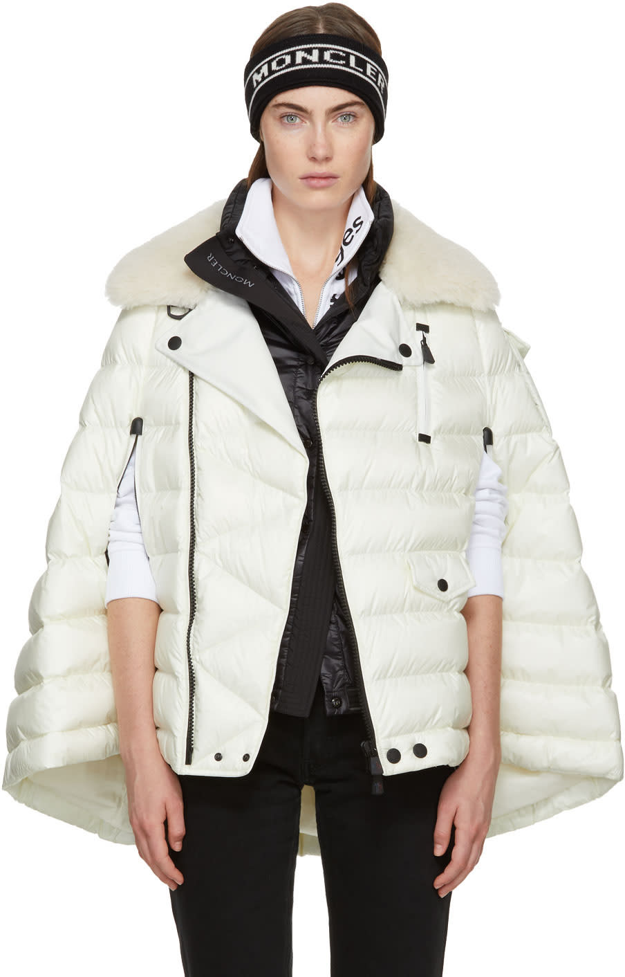 Moncler Grenoble Off-white Orcleres Cape