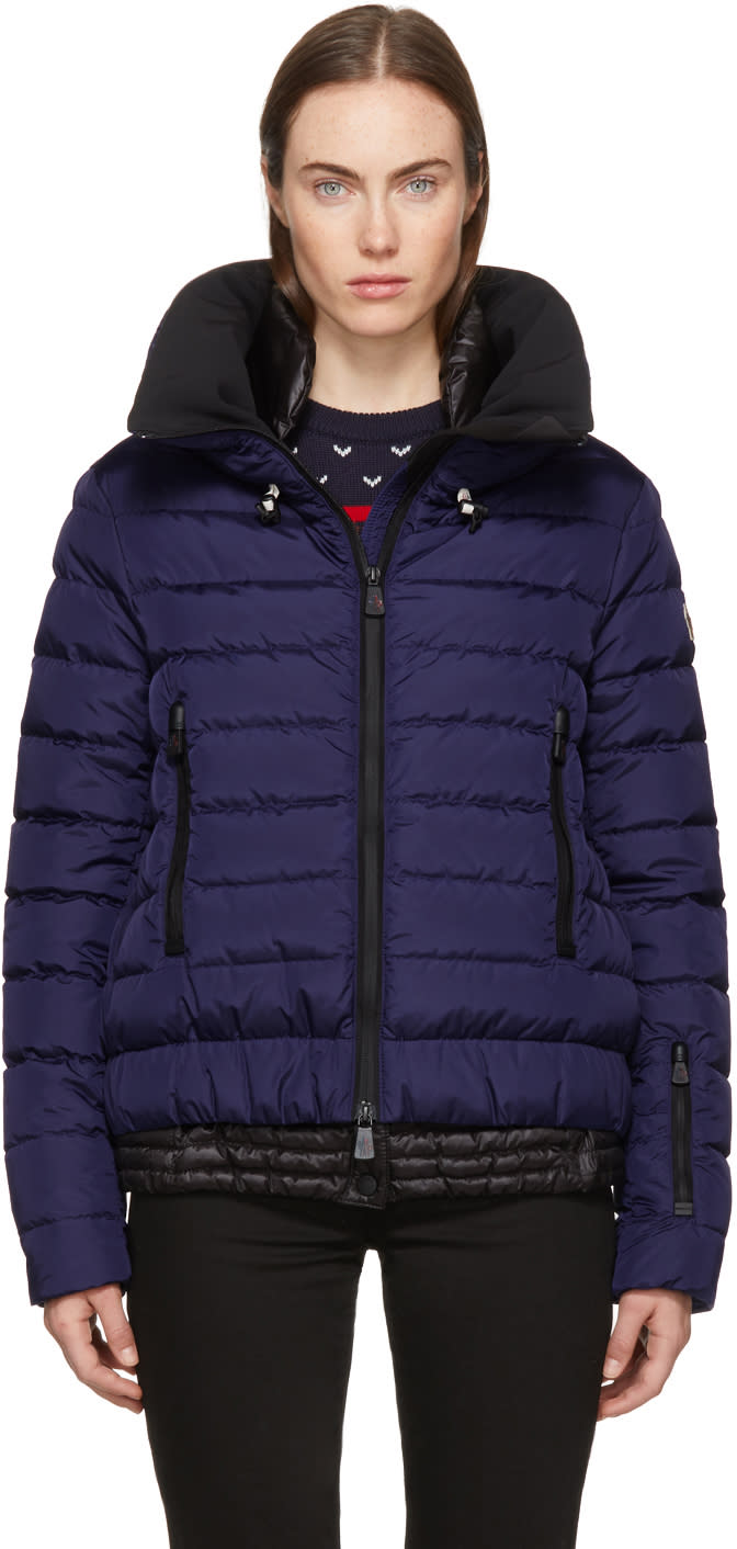 Moncler Grenoble Purple Down Vonne Jacket