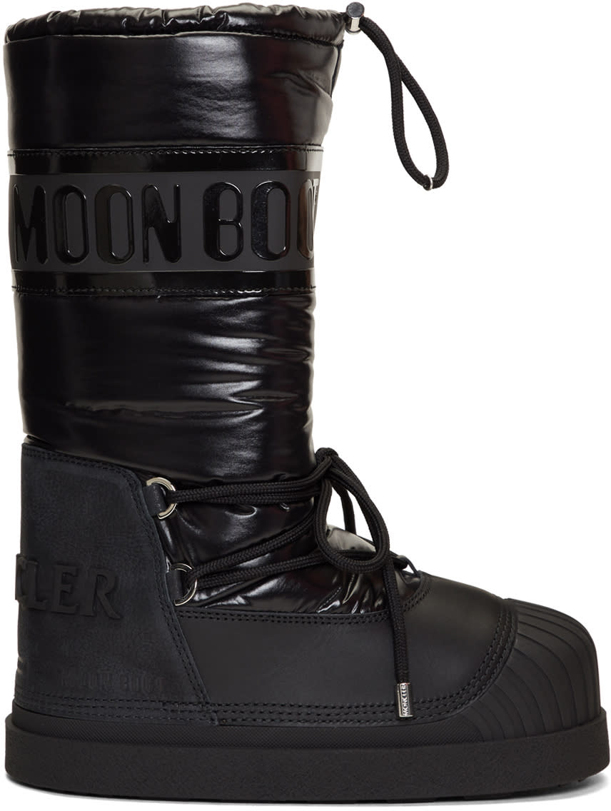 Moncler Grenoble Black Venus Moon Boots