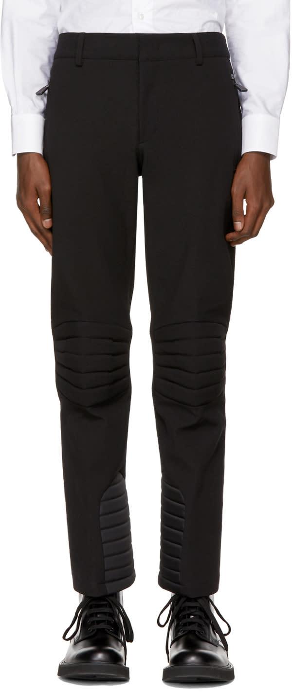 Image of Moncler Grenoble Black Padded Ski Trousers