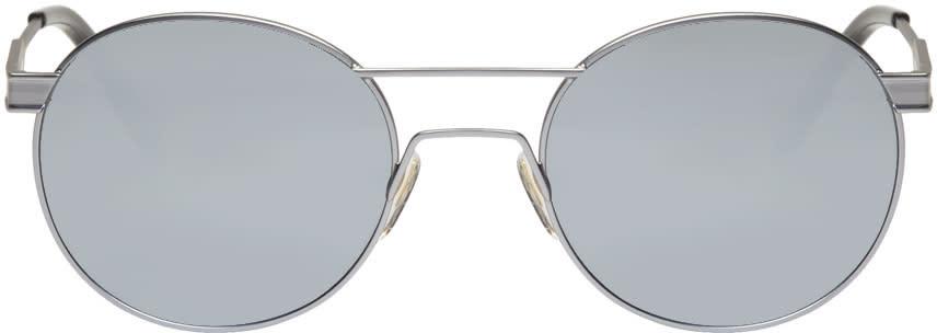 Han Kjobenhavn Silver green Sunglasses