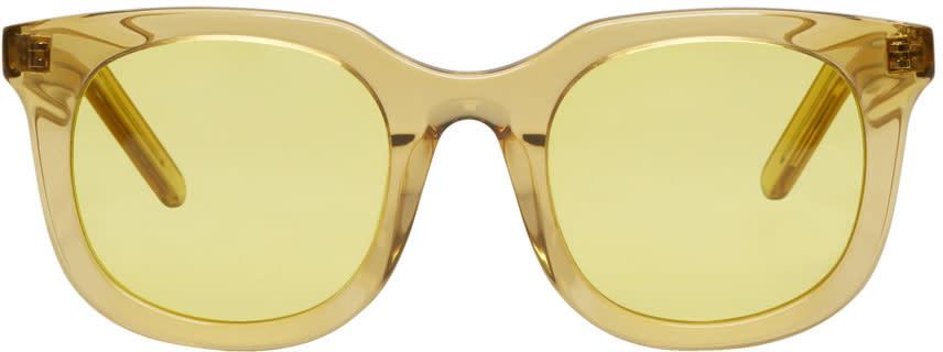 Han Kjobenhavn Yellow Ace Sunglasses