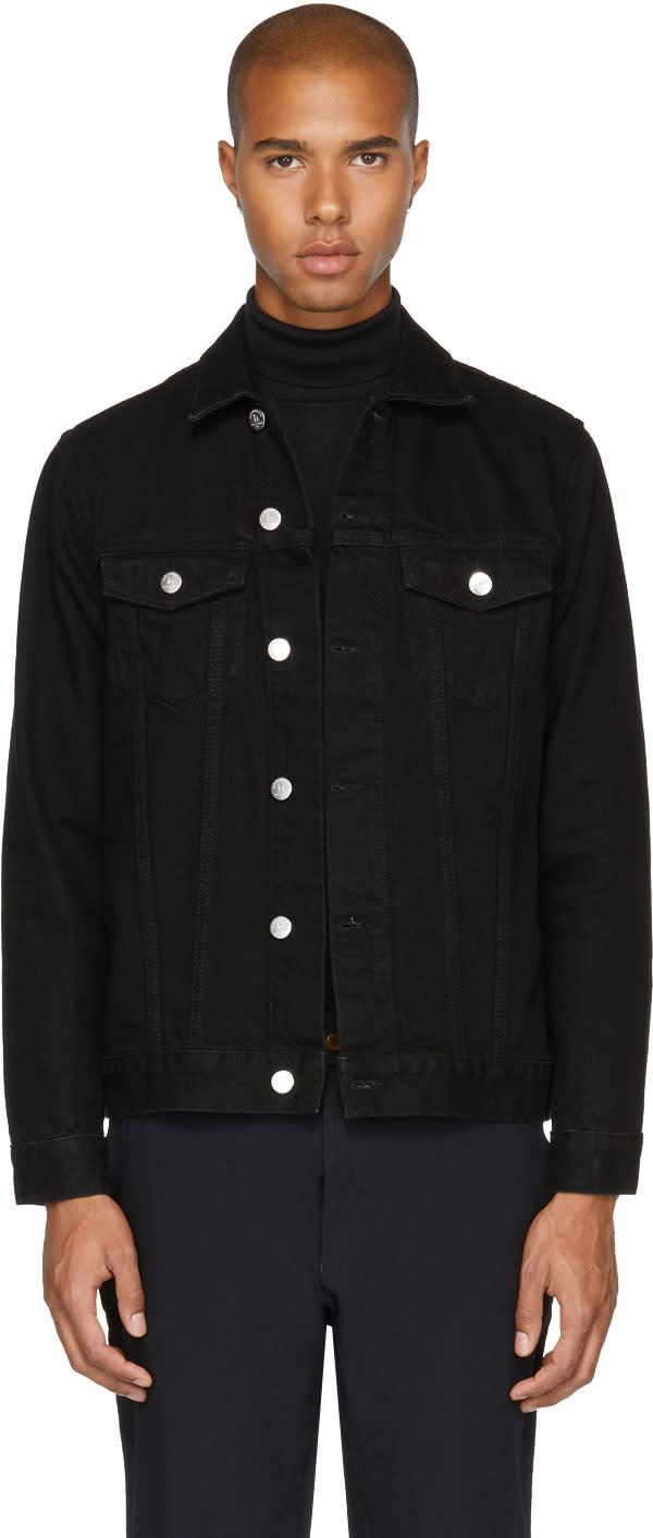 Image of Han Kjobenhavn Black Denim Base Jacket