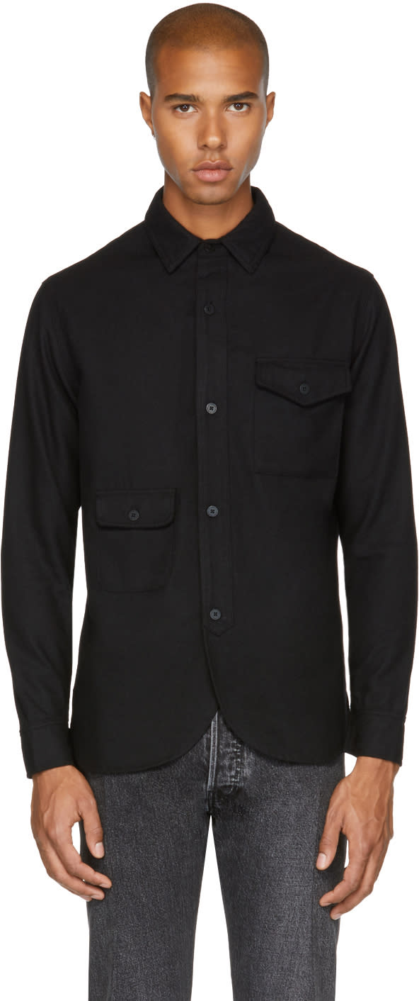 Image of Han Kjobenhavn Black Army Shirt