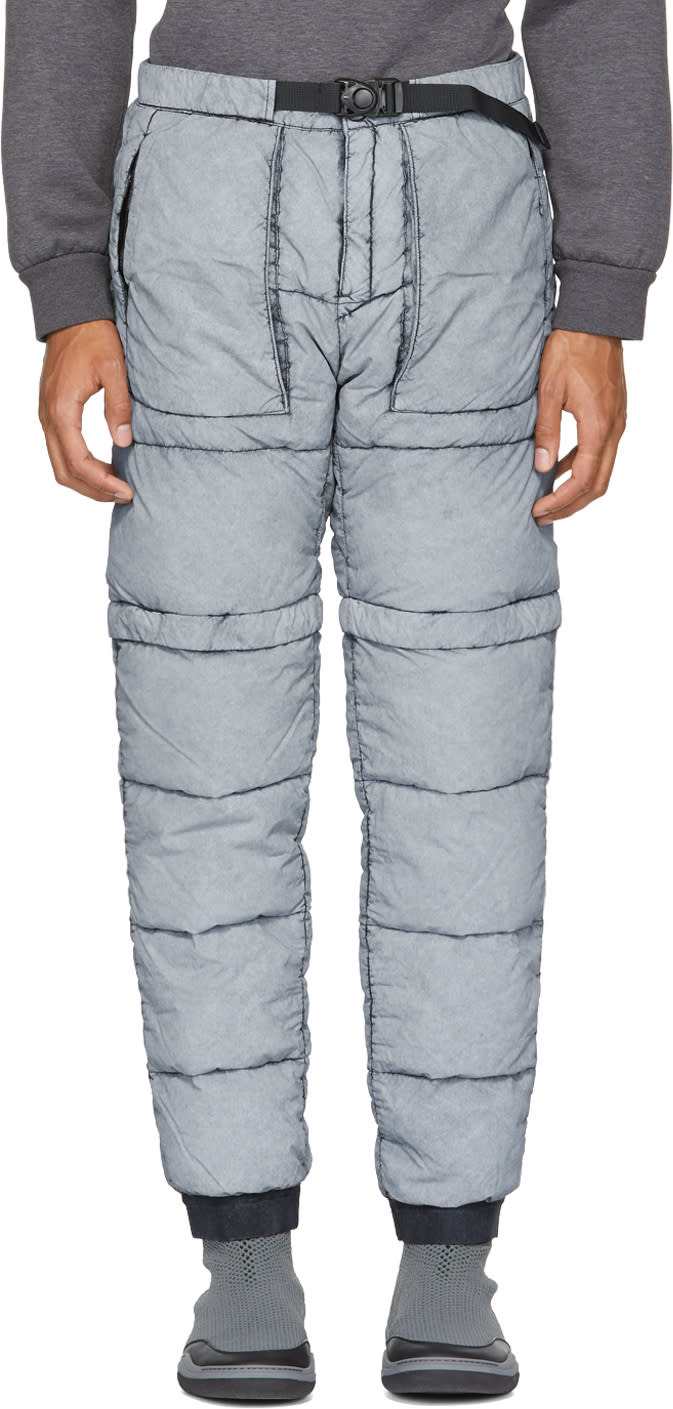 Image of Stone Island Black Down Trousers
