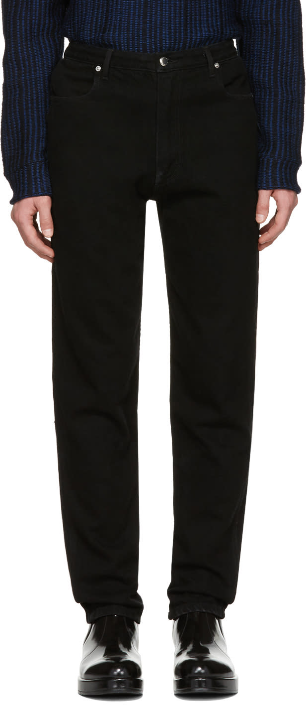 Image of Eckhaus Latta Black El Jeans
