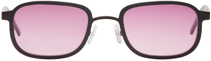 Image of Blyszak Black and Pink Collection Iii Sunglasses