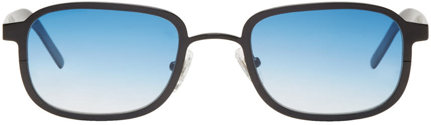 Image of Blyszak Black and Blue Collection Iii Sunglasses