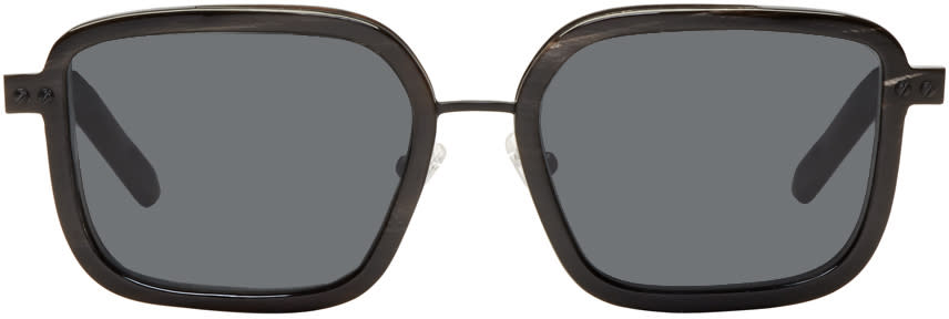 Image of Blyszak Black Horn Collection V Sunglasses