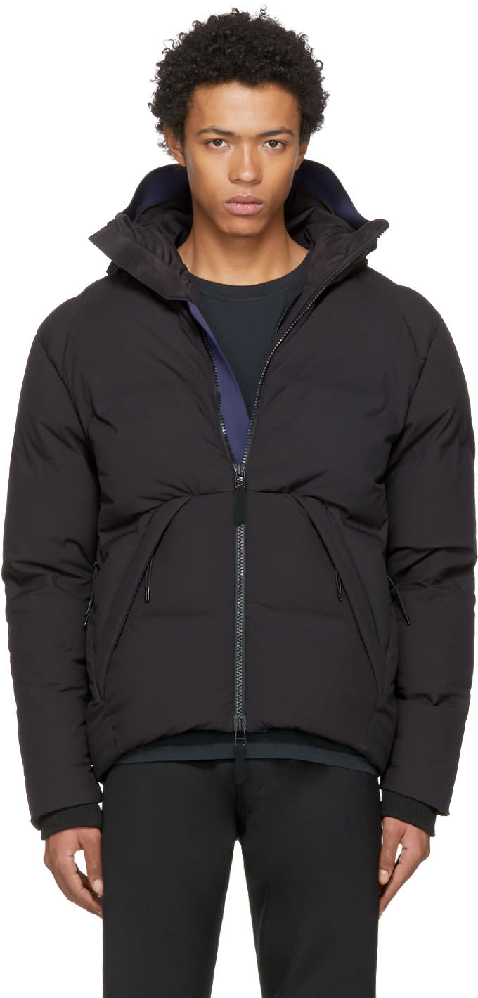 Image of Isaora Black Down Voyager V.2 Jacket