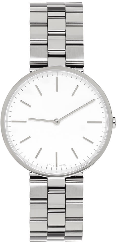 Uniform Wares Silver Linked M37 Watch