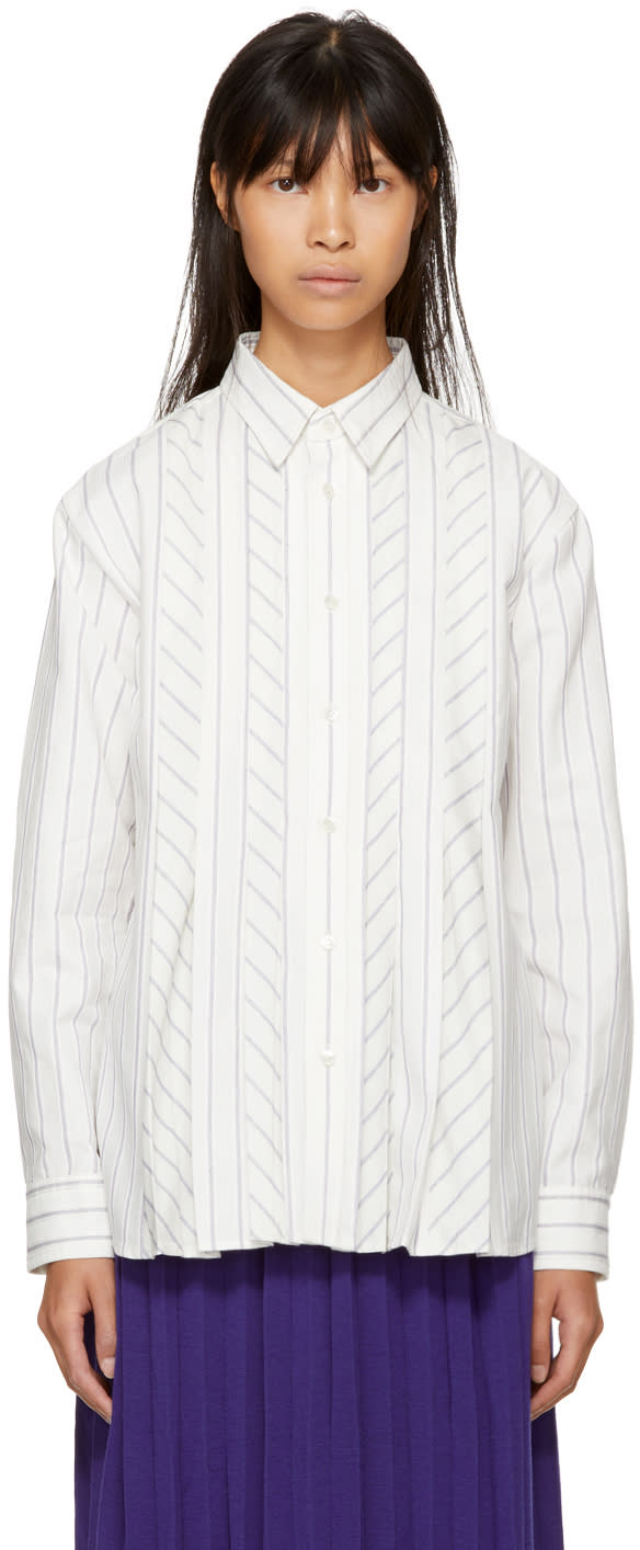 Image of Harikae Off-white Button-up Shirt